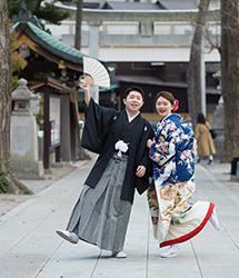 亀有香取神社でのロケーション撮影:集合写真