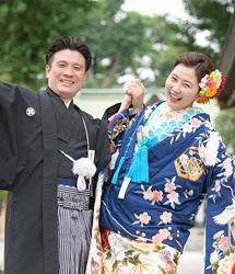 亀有香取神社でのロケーション撮影:オフショット