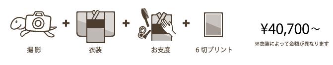 1/2成人・十三参りフォトプラン:おでかけレンタル