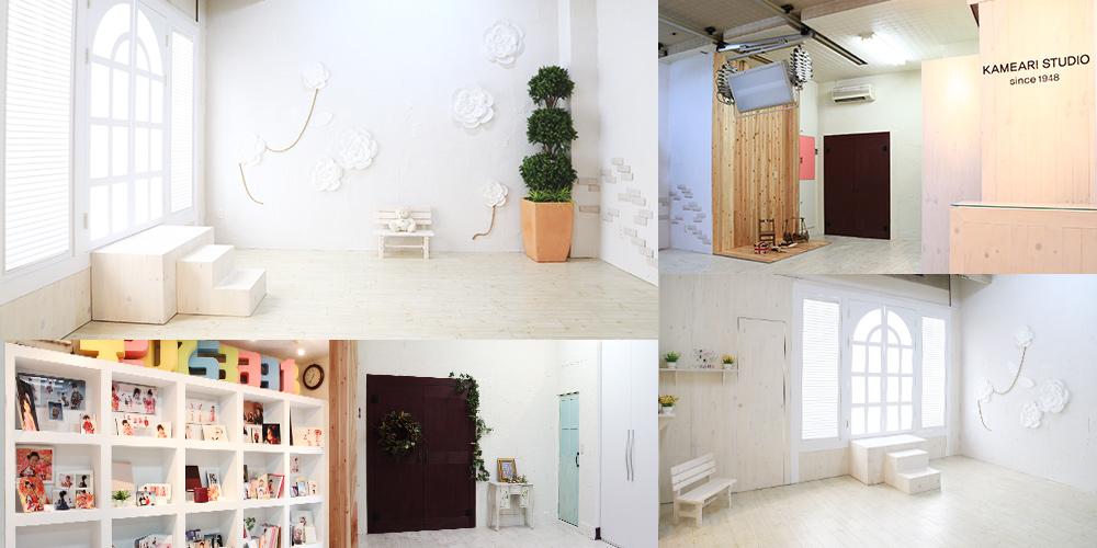 ホワイトを基調とした亀有スタジオ