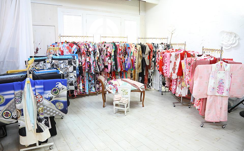 亀有スタジオ:七五三衣装展示会の様子